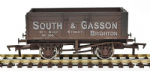 GM4410202 7 Plank Wagon South & Gasson 105 Brighton Weathered